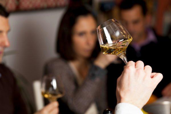 Dégustation vin blanc Clermont Ferrand