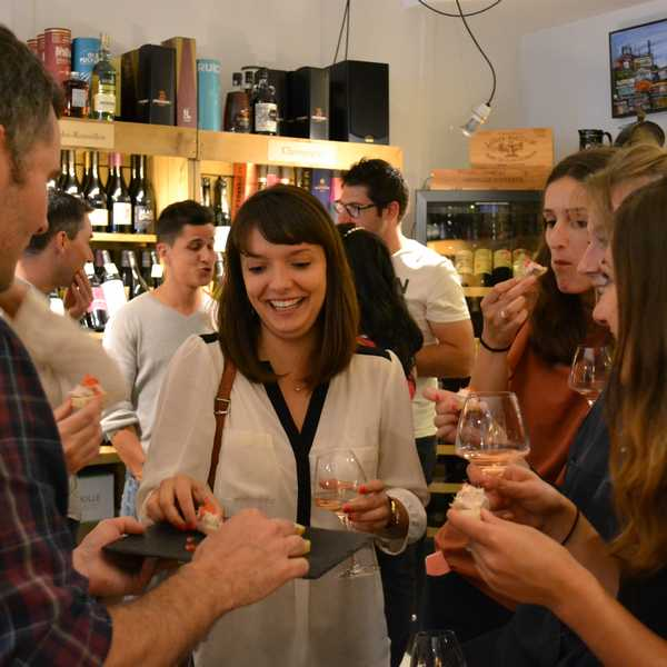apéro oenologique dégustation de vin à Clermont-Ferrand
