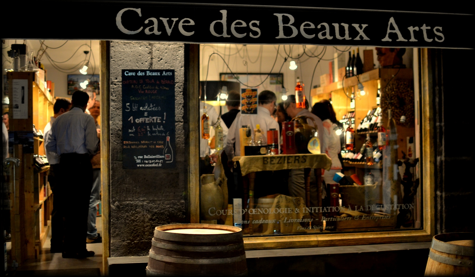 Caviste à Clermont Ferrand, Oenofeel Cave des Beaux-Arts