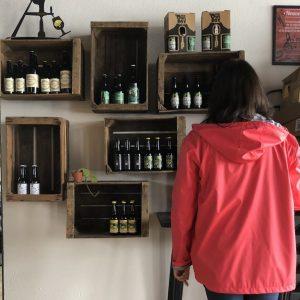 équipe cave des beaux arts visite brasserie des sagnes